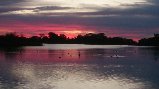 Moulamein Lake