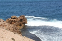 Whispering Rocks and the Blowholes - great sounds but more like roaring than whistling.