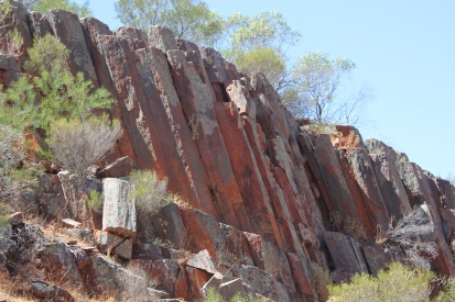 Gawler National Park - the Organ Pipes