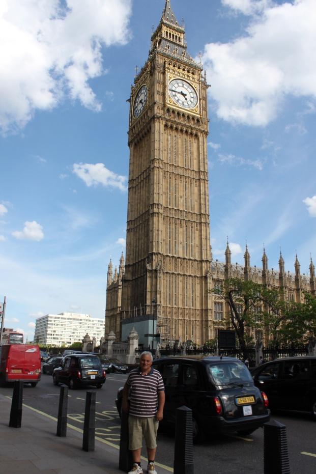 'Ben' in front of Big Ben