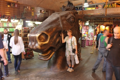 Enjoying the stables market