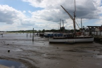 Watching the tide come in on the Deben River