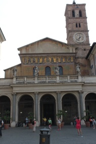 Santa Maria in Trastevere is one of Rome's oldest churches.