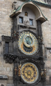 The Astronomical Clock - apparently the most underwhelming tourist attraction in Europe - I thought it deserved better than that.