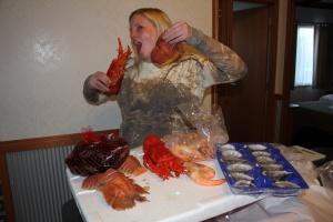 A seafood extravaganza!