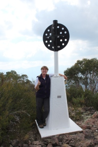 Great to reach the top of Big Talbingo Mountain, now at 1373m above sea level.