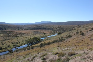 Murrumbidgee River just below Tantangara Dam
