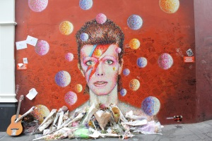 David Bowie memorial at Brixton
