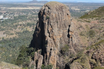 Virgin Rock from Mount Zambia