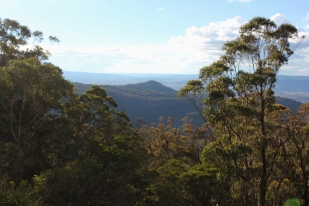 View of the Doctors Nose from Mount Mackenzie - a reference to some cattle duffers.
